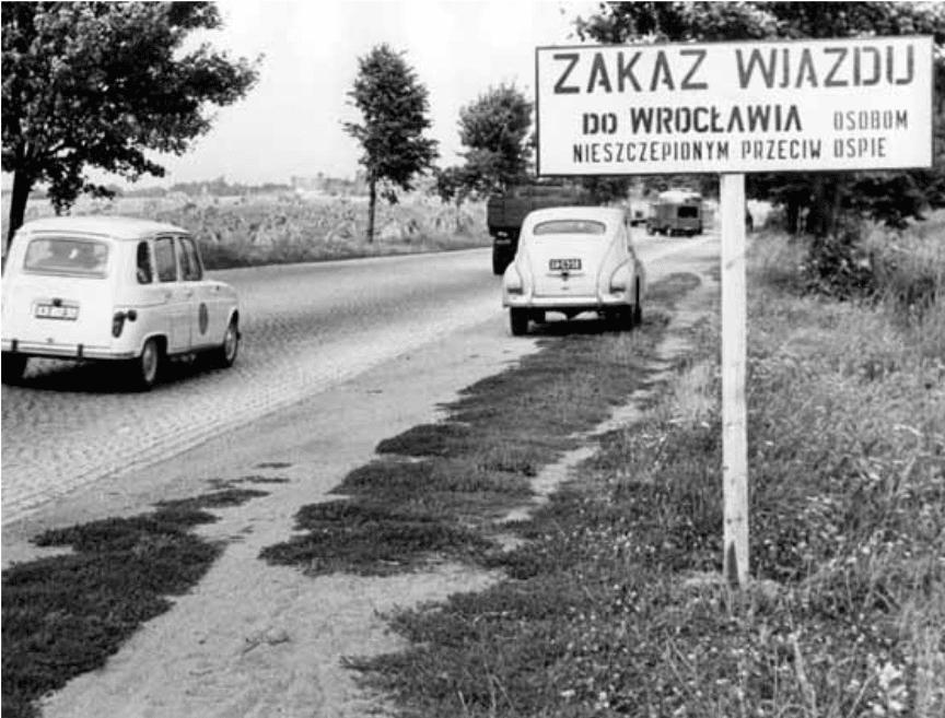 Ograniczenie wjazdu do Wrocławia podczas epidemii ospy w: Kronika z pandemii