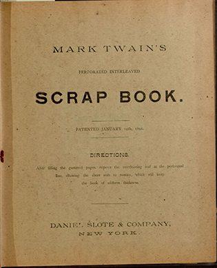 Scrapbook Marka Twaina