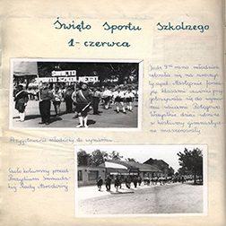 Kronika szkolna z lat 1962-1963