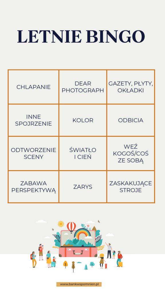 12 sposobów na ciekawe zdjęcia z wakacji, czyli letnie bingo